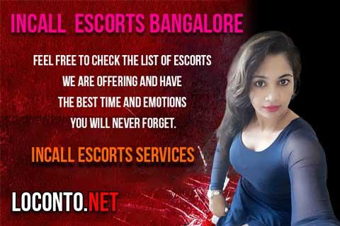 Incall Escorts in Bangalore