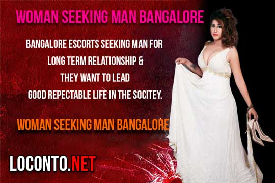 women seeking men in Bangalore
